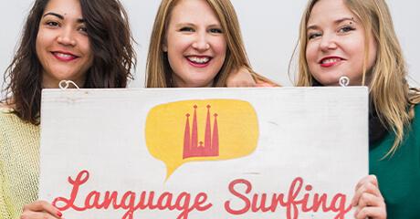language school communication strategy and web